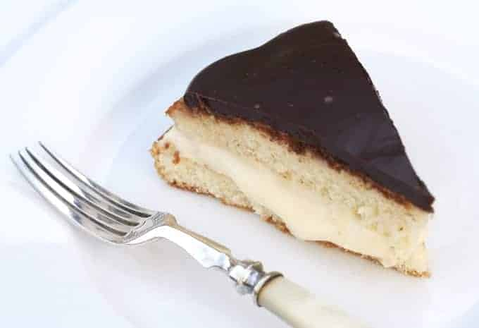 Boston Cream Pie a little heirloom jewel to share in this Happy New ...