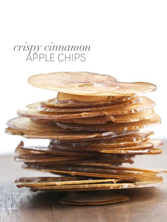 of Fall heirloom apples captured as thin, sweet chips – apple chips ...