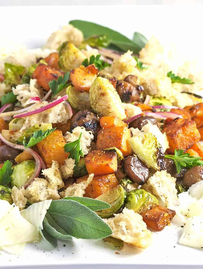 Winter Panzanella Recipe — Dishmaps