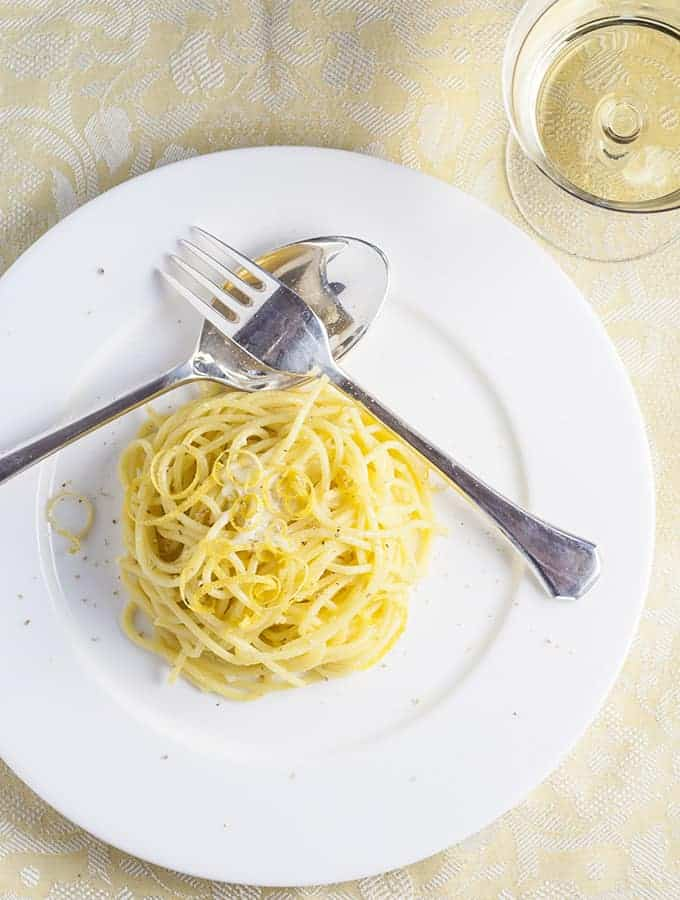 Spaghetti with Saffron & Lemon | Bijouxs | Little Jewels from the ...