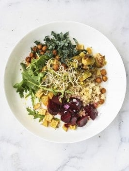 Autumn Roasted Vegetable Salad | Bijouxs Little Jewels
