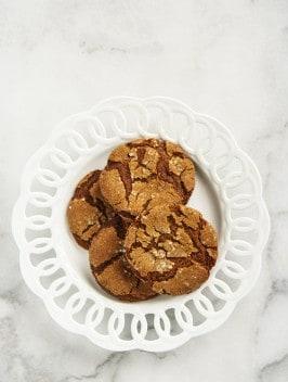 Christmas Molasses Cookies | Bijouxs Little Jewels