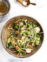 Radish & Sprout Salad |Bijouxs Little Jewels