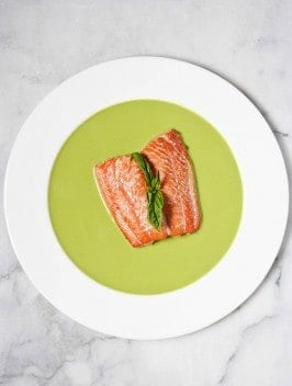 Bijouxs Little Jewels | Salmon in Basil Sauce