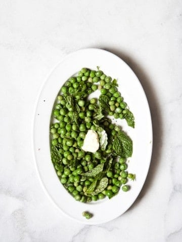 Bijouxs | Fresh English Peas with Mint