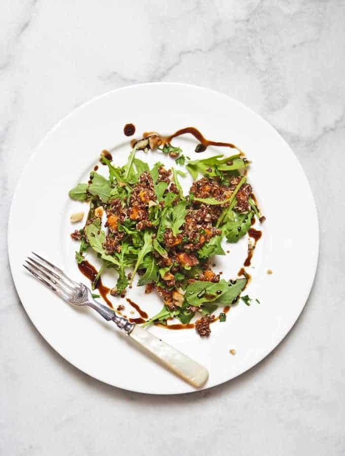 Quinoa with Sweet Potato & Pecans | Bijouxs Little Jewels