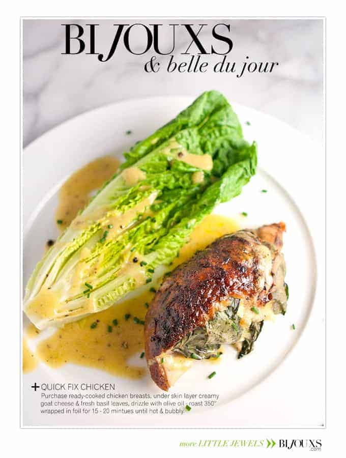 Bijouxs Belle du Jour | Quick Fix Chicken