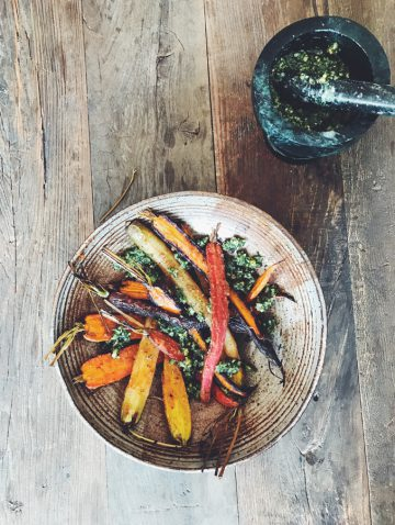 Bijouxs Little Kitchen Jewels | Maple-Miso Carrots