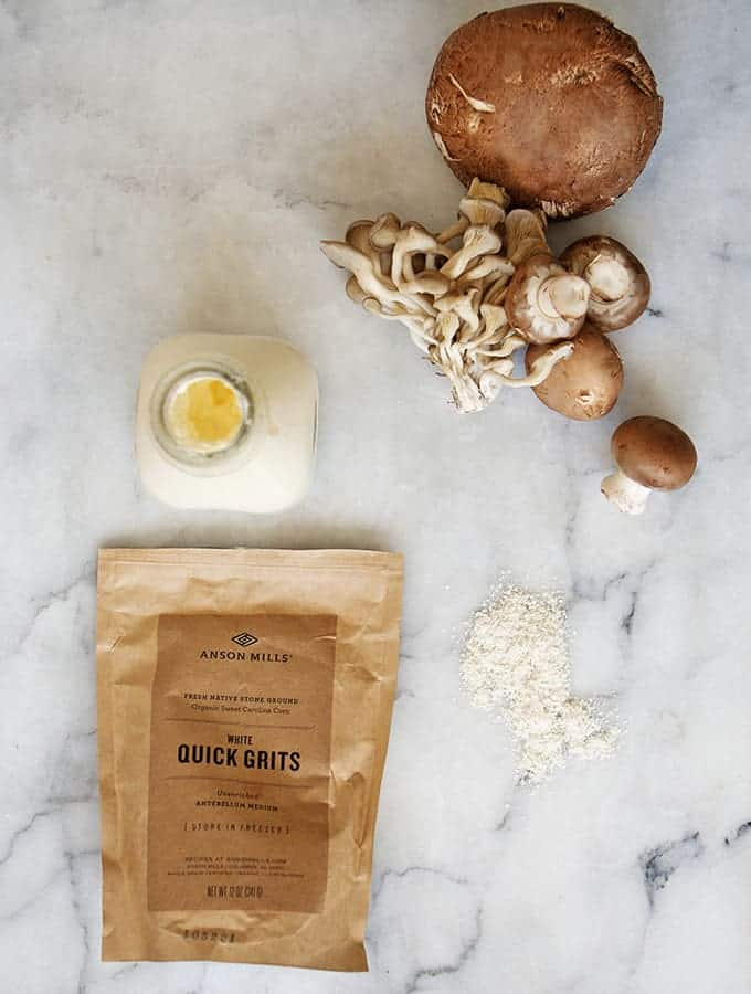 Bijouxs Little Jewels | Creamy Mushrooms & Grits