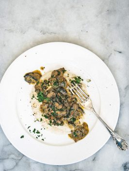Bijouxs Little Jewels | Creamy Mushrooms & Grits