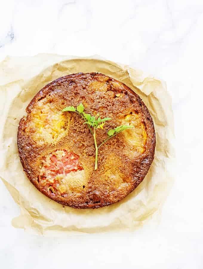 Bijouxs Little Jewels   Tomato Upside-Down Cake