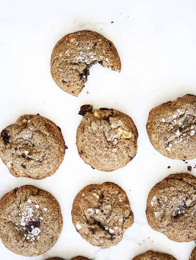 Chocolate Chunk Buckwheat Cookies | Bijouxs Little Jewels