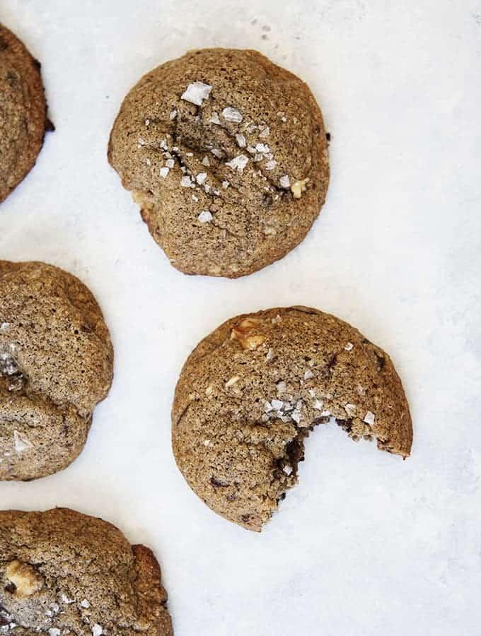 Chocolate Chunk Buckwheat Cookies | Bijouxs Little Jewels