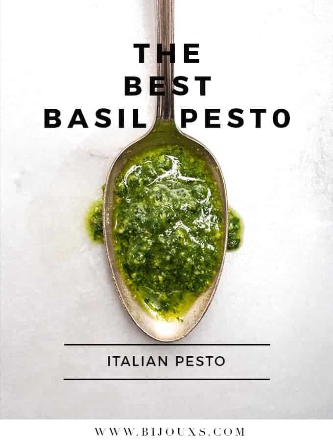 Best Basil Pesto | Bijouxs Little Jewels
