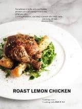 Roasted Lemon Chicken | Bijouxs Little Jewels