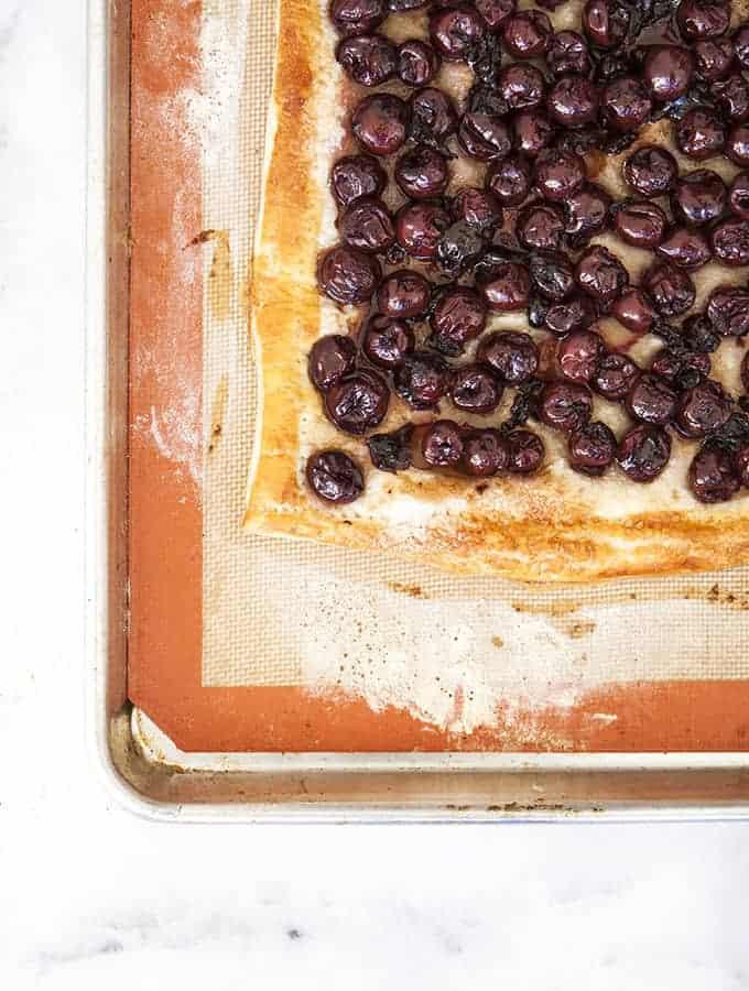 Sweet & Easy Cherry Tart
