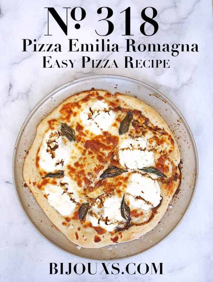Pizza Emilia Romagna  Bijouxs Little Jewels