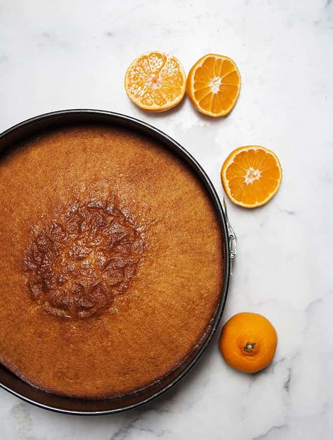 Citrus Olive Oil Cake | Bijouxs Little Jewels