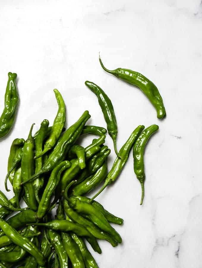 Easy Soy & Ginger Shishito Peppers | Bijouxs Little Jewels