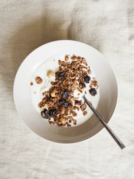 Chocolate Cherry Granola | Bijouxs Little Jewels