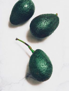 California Avocado with Ponzu Sauce | Bijouxs Little Jewels