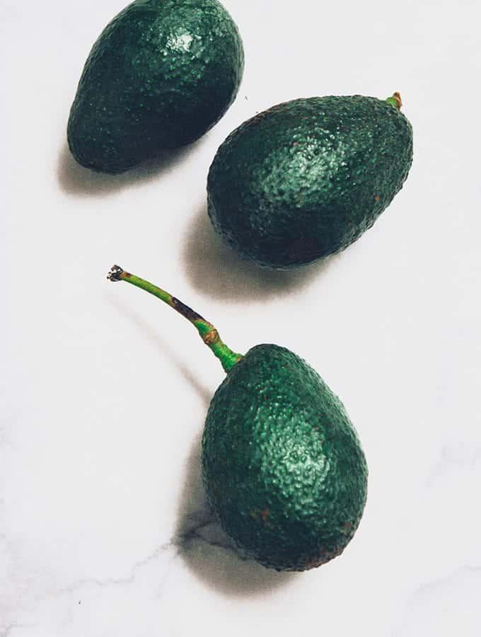 California Avocado with Ponzu Sauce | Bijouxs Little Jewels