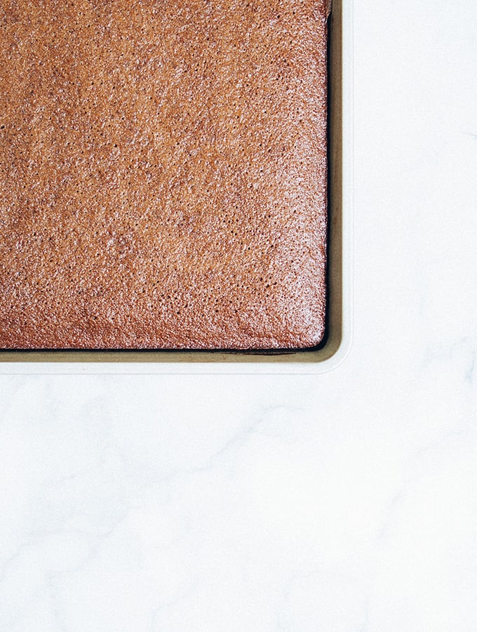 Sheet Pan Buttermilk Brownies | Bijouxs Little Jewels
