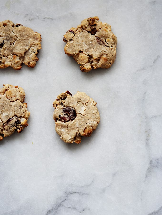 Wabi Sabi Miso Fruit & Nut Cookies |Bijouxs Little Jewels