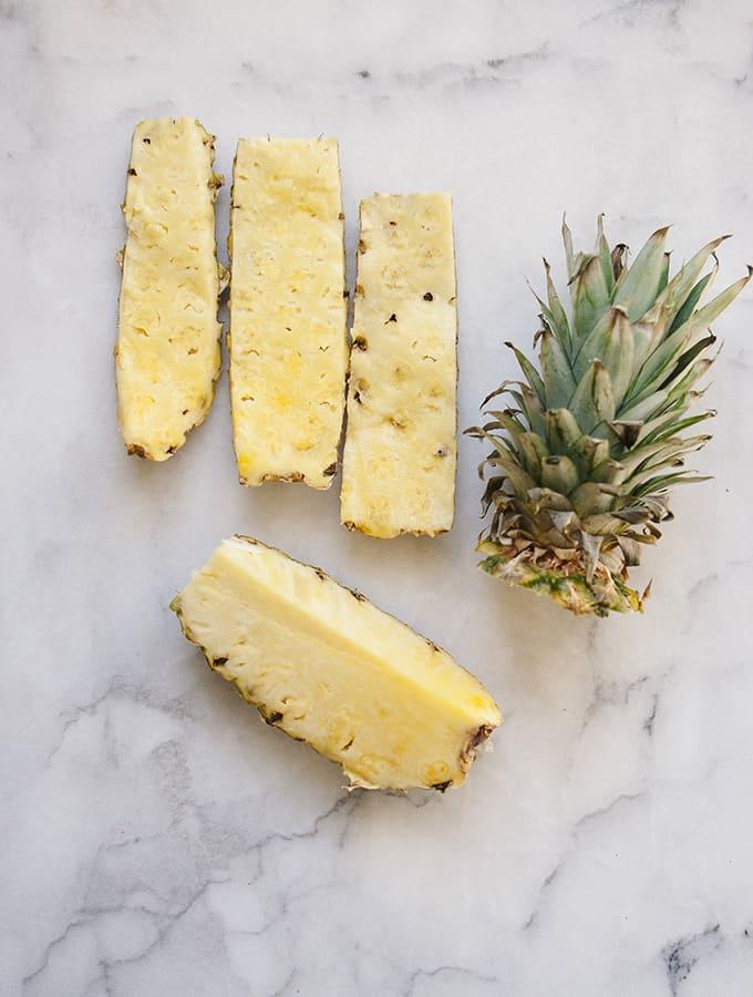 Spice Roasted Pineapple with Vanilla Bean Yogurt   Bijouxs Little Jewels