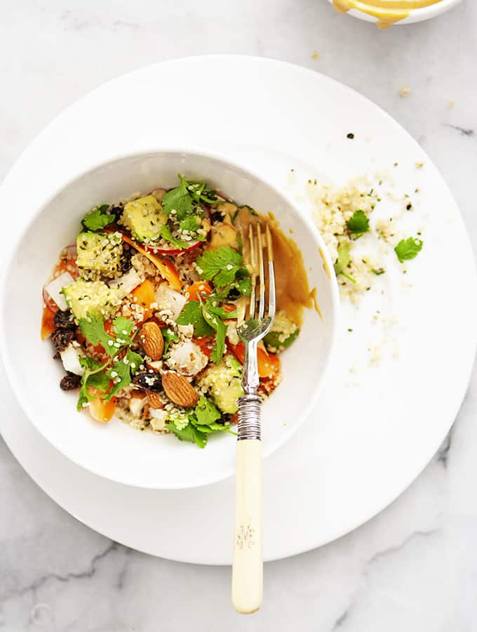 Full O'Life Bowl with Tahini Dressing | Bijouxs Little Jewels