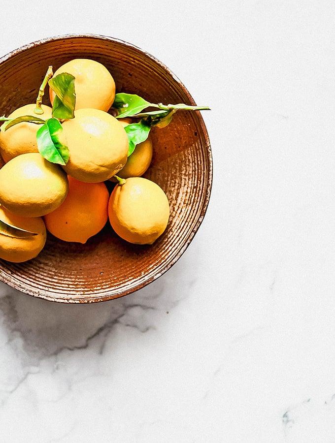 Yogurt with Herbs & Preserved Lemon   Bijouxs Little Jewels