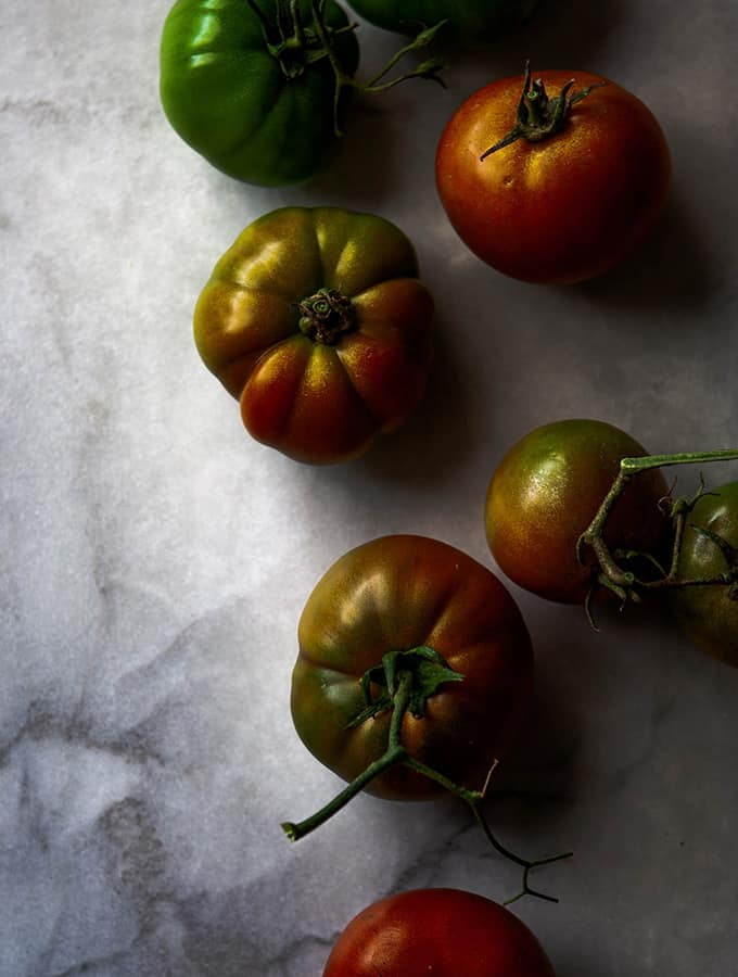 Summer Simple Tomatoes with Ricotta & Romano Cheese | Bijouxs Little Jewels