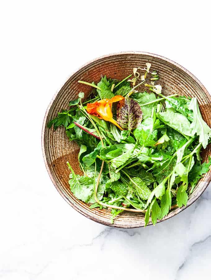 Ventura Highway Garden Salad | Bijouxs Little Jewels