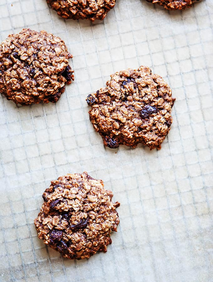 Giant Oatmeal Raisin Cookies|Bijouxs Little Jewels