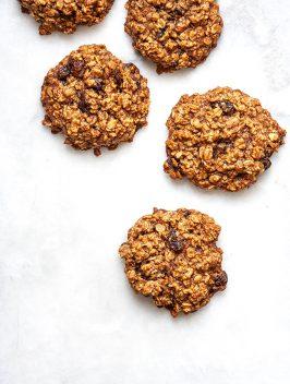 Giant Oatmeal Raisin Cookies|Bijouxs Little Jewels