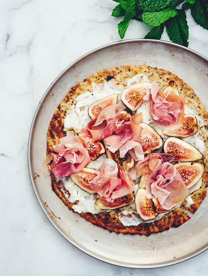 Fig, Brie & Prosciutto Pizza | Bijouxs Little Jewels