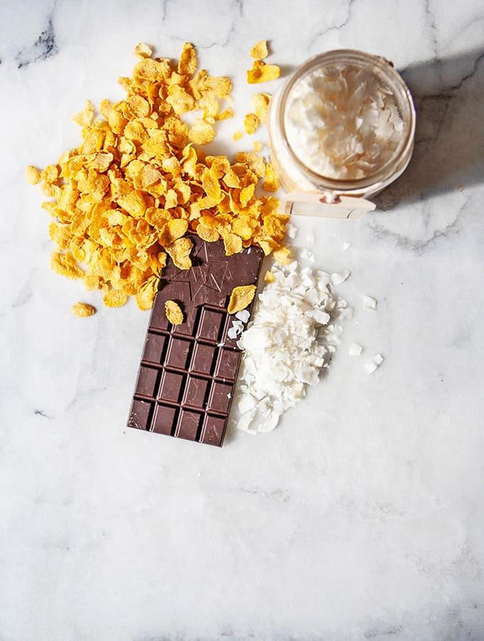 Coco Cornflake Bars