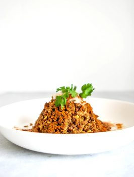 Spiced Lentils with Brown Rice