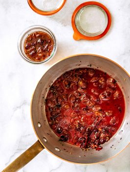 Spiced Grape Chutney