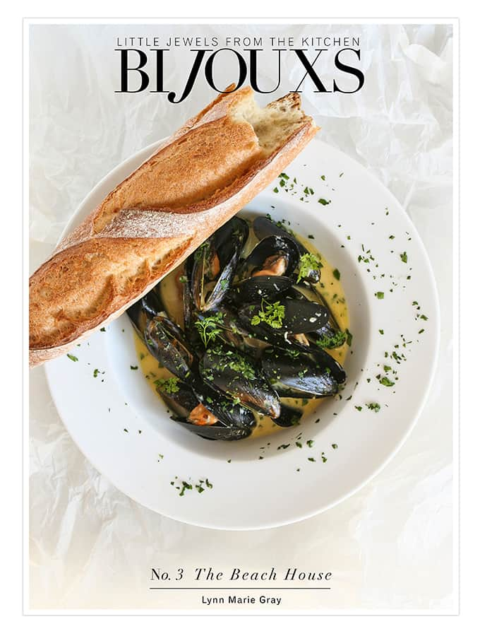 The Beach House Cookbook | Bijouxs Little Jewels