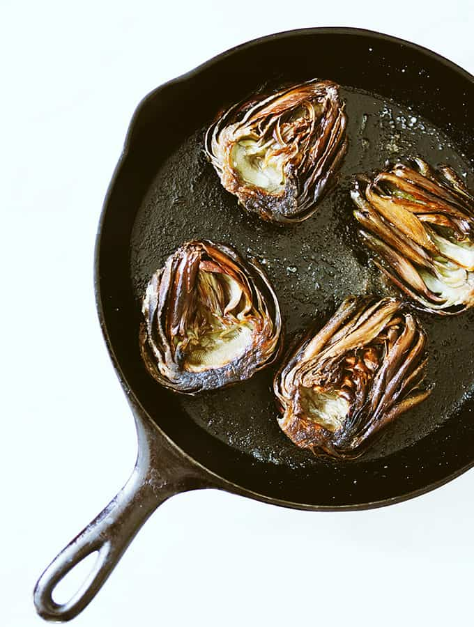 Sicilian Roasted Artichokes | Bijouxs Little Jewels