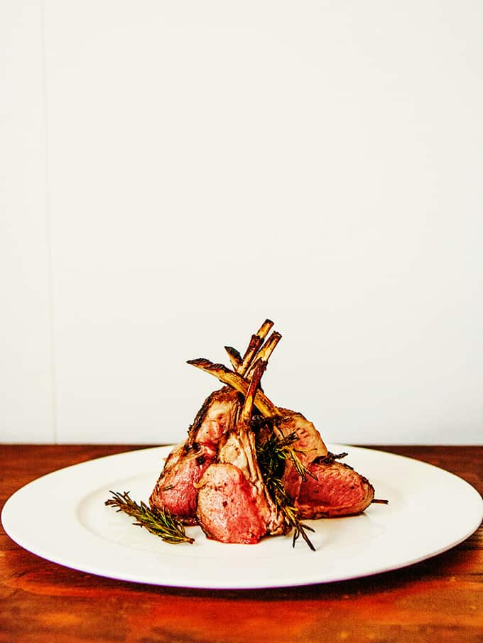 Grilled Rosemary Lamb with Garlic Butter | Bijouxs Little Jewels
