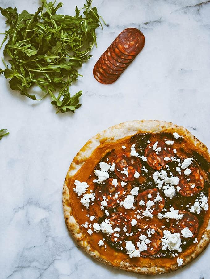 Pumpkin & Fig Pizza | Bijouxs Litle Jewels