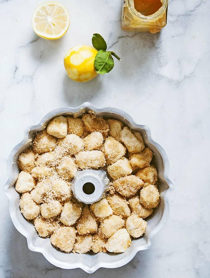 Meyer Lemon Pull-Apart Bread Bijouxs Little Jewels