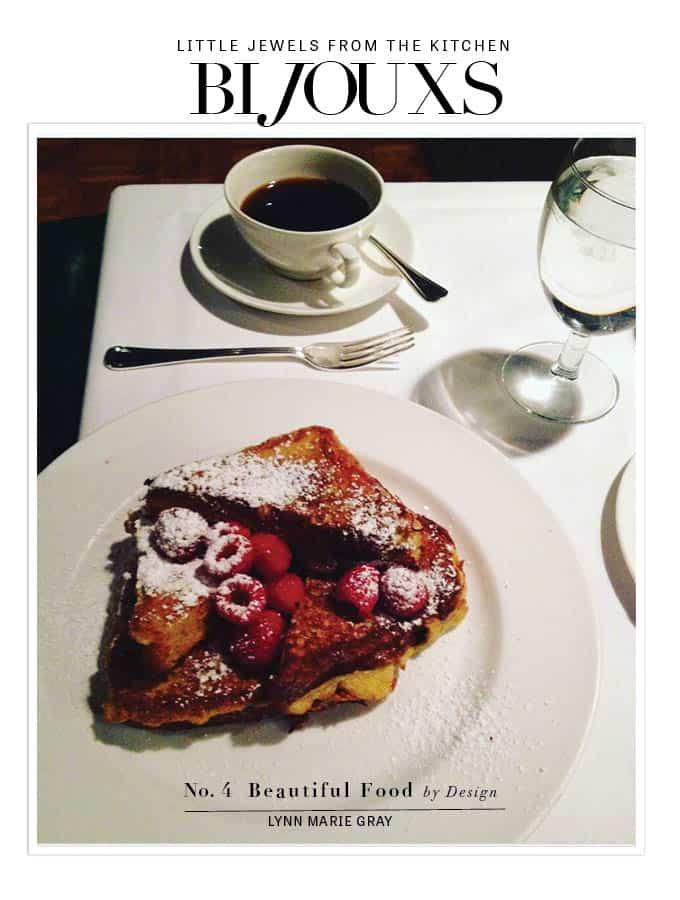 Beautiful Food by Design Cookbook