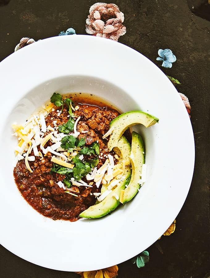 Spiced Lentil & Quinoa Chili | Bijouxs Little Jewels
