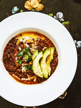 Spiced Lentil & Quinoa Chili |Bijouxs Little Jewels