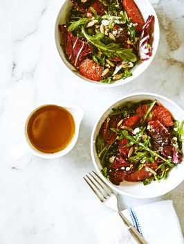 Seasonal Arugula Citrus Salad |Bijouxs Little Jewels