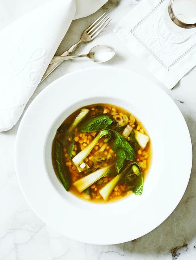 Chinese Corn Soup | Bijouxs Little Jewels